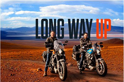 HARLEY-DAVIDSON : Apple tv+ dévoile la bande annonce officielle de la nouvelle série originale apple « LONG WAY UP »