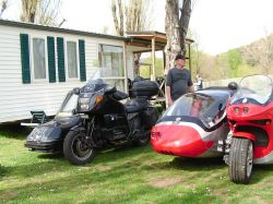 Rencontre CDLR Anduze 2018. Side-car. Le Journal Des Motards. Photo Christophe Vincentz