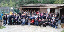 Rencontre Chevaliers De La Route 2018. photo de groupe - photo JMarc Verguin