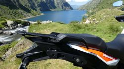 ktm 1290 super adventure s. selle pilote, selle passager
