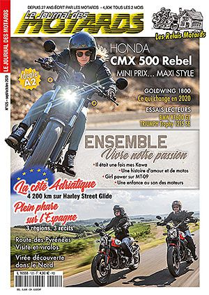 LE JOURNAL DES MOTARDS n°125 – sept/octobre 2020